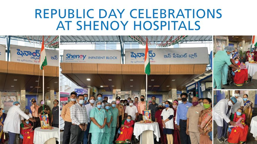 Republic Day Celebrations at Shenoy Hospitals